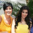 Kris Jenner et Kim Kardashian à Monte-Carlo en 2008.