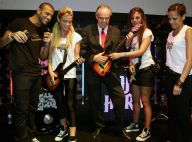Frédéric Mitterrand : Un vrai guitar hero qui s'éclate avec Quentin Mosimann, Miko et Cartman...