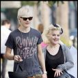 Kelly Osbourne et son amoureux Luke Worrall passent de superbes moments à Hollywood. 19/09/09