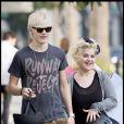 """Kelly Osbourne et son amoureux Luke Worrall passent de superbes moments à Hollywood. 19/09/09"""