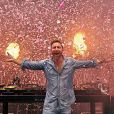 David Guetta à Ibiza. Août 2019.