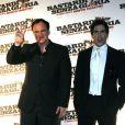 Quentin Tarantino et Eli Roth à la première italienne d' Inglorious Basterds  !
