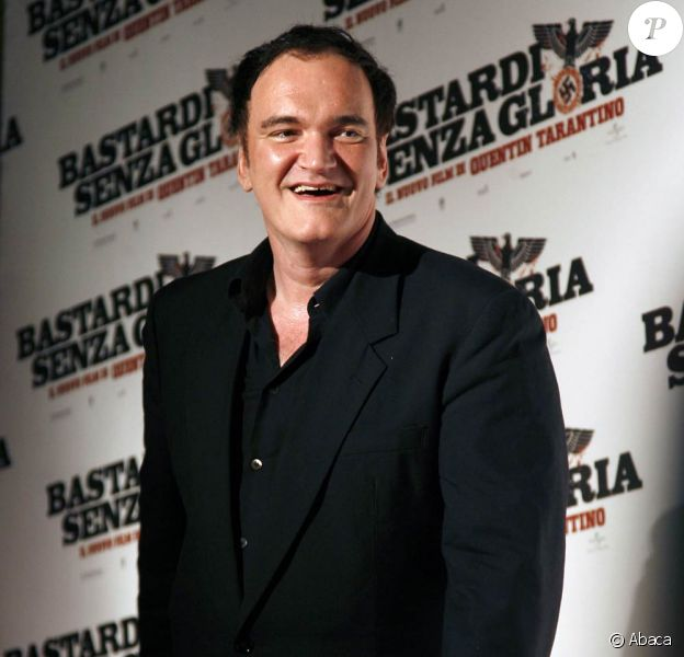 Quentin Tarantino à la première italienne d'Inglorious Basterds !