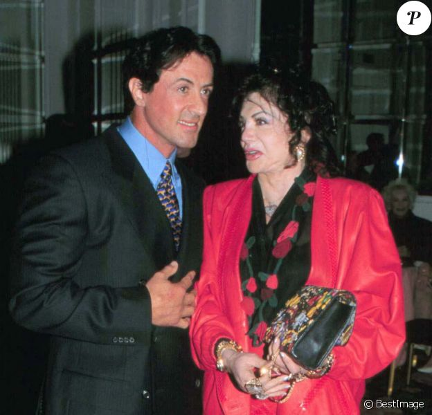 Sylvester et Jackie Stallone aux Golden Apple Awards en 1997.