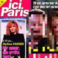 """Une du magazine """"Ici Paris"""". Septembre 2020."""