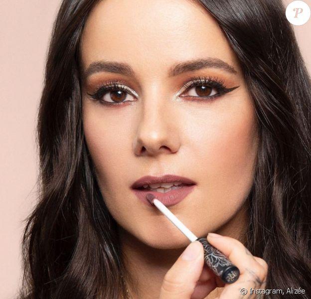 Alizée devient égérie de la marque KVD Vegan Beauty.