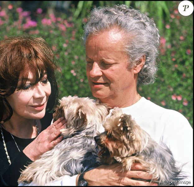( Décès de Juliette Greco à l'âge de 93 ans) -Juliette Gréco et son mari, le compositeur Gérard Jouannest.