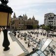 Inauguration de la place du Casino en présence du couple princier à Monaco le 2 juin 2020. Les participants portent des masques pour se protéger de l'épidémie de Coronavirus (Covid-19). © Dylan Meiffret / Nice Matin / Bestimage