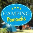 "Logo de la série ""Camping Paradis""."
