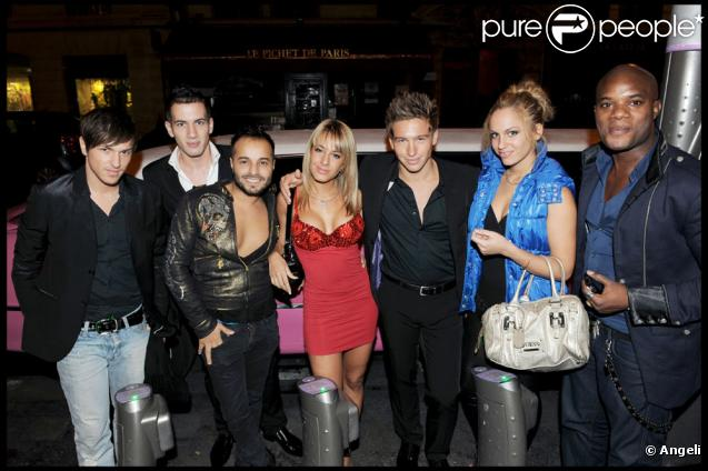 Quentin Mosimann (Star Ac), Quentin (SS2), Nicolas (SS2), Carla (Ile de la Tentation), Michael Vendetta, Maeva (SS2)