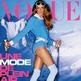 """Couverture du magazine """"Vogue Paris"""", numéro d'octobre 2020."""