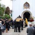 Les obsèques de Filip Nikolic à Sainte-Geneviève-des-Bois