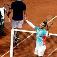Hugo Gaston, 239ème mondial, élimine Stanislas Wawrinka, ancien vainqueur du tournoi, 17ème mondial, lors du tournoi de tennis de Roland Garros à Paris. Le 2 octobre 2020. © Dominique Jacovides / Bestimage