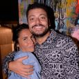 Exclusif - Alessandra Sublet et Kev Adams lors de la soirée de lancement du Fridge, le nouveau comedy club de Kev Adams à Paris. © Rachid Bellak / Bestimage
