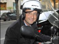 François Hollande : Fesses nues et casque de scooter, l'ancien président en rit