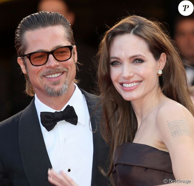 Angelina Jolie et Brad Pitt à Cannes.
