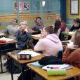 """Les élèves du lycée Paul Valéry dans la série """"Demain nous appartient"""", diffusée sur TF1."""