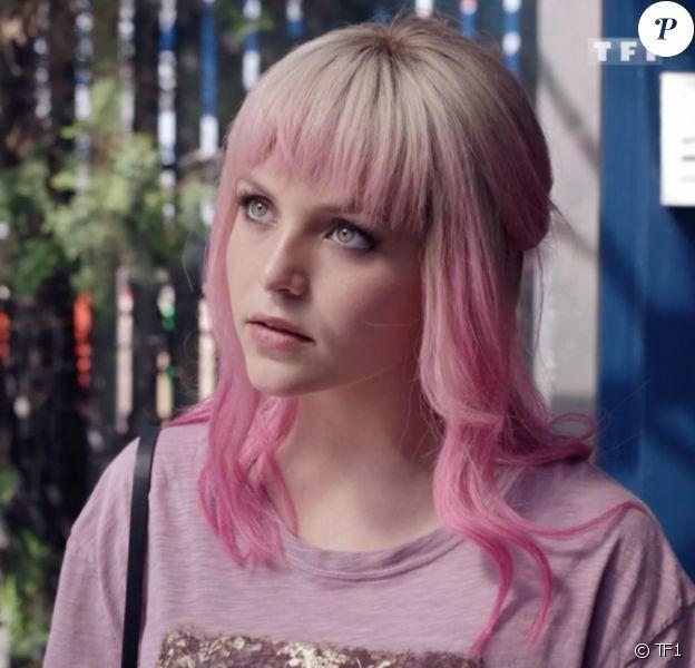 """Alice Varela dans la série """"Demain nous appartient"""" sur TF1."""