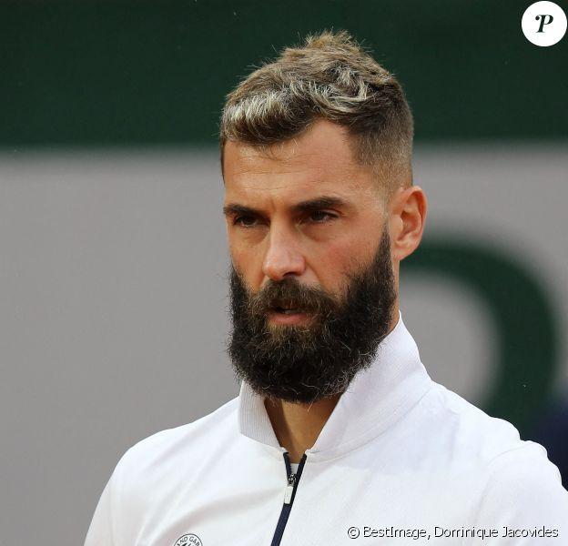 Benoit Paire se qualifie pour le deuxième tour des internationaux de tennis de Roland-Garros à Paris face au coréen Soonwoo Kwon (7-5, 6-4, 6-4). © Dominique Jacovides / Bestimage