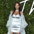 Rihanna à la soirée 'Fashion Awards 2019' au Royal Albert Hall à Londres, le 2 décembre 2019. © Steve Vas / ZumaPress / Bestimage