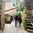 Alessandra Sublet avec son compagnon Jordan sur Instagram