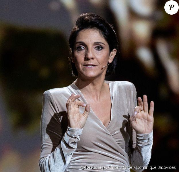 Florence Foresti, maitresse de cérémonie lors de la 45ème cérémonie des César à la salle Pleyel à Paris © Olivier Borde / Dominique Jacovides / Bestimage