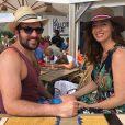 David Mora et sa chérie Davina Vigné, sur Instagram, août 2020