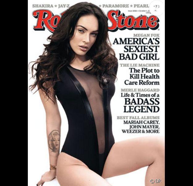 Megan Fox en couverture de Rolling Stone