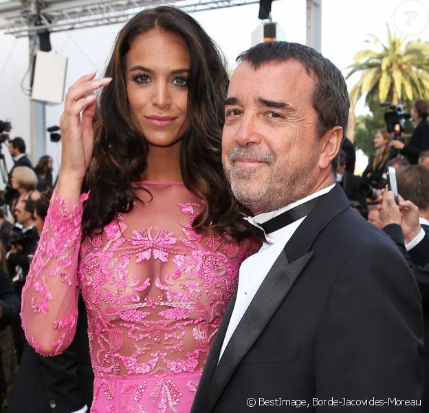 "Jade Foret (Lagardère) et son mari Arnaud Lagardère - Montée des marches du film ""Les Proies"" (The Beguiled) lors du 70e Festival International du Film de Cannes. © Borde-Jacovides-Moreau/Bestimage"
