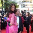 """Jade Foret (Lagardère) et son mari Arnaud Lagardère - Montée des marches du film """"Les proies"""" lors du 70e Festival International du Film de Cannes. Le 24 mai 2017. © Borde-Jacovides-Moreau / Bestimage"""