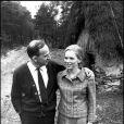 Ingmar Bergman et Liv Ullmann en 1967