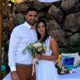 Valérie Bègue à la Réunion avec son chéri pour le mariage de son frère - Instagram, 24 octobre 2020