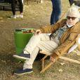 Josée Dayan Festival du Film Francophone d'Angoulême édition 2020 . Photocall au jardin de Bardines à Angoulême lundi 31 aout 2020 . © Christophe Aubert via Bestimage