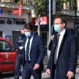 Christian Estrosi, maire de Nice - Les secours et la police sont mobilisés, suite à l'attaque au couteau par un homme au sein de la basilique Notre-Dame de Nice, le 29 octobre 2020.