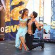 """Rayane Bensetti et Denitsa Ikonomova - Spectacle """"Danse avec les stars"""" lors du 55ème Festival de Télévision de Monte-Carlo à Monaco, le 14 juin 2015."""