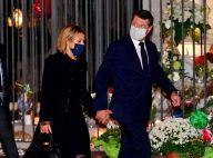 Attentat de Nice - Christian Estrosi et Laura Tenoudji : Messe chargée d'émotion à la basilique