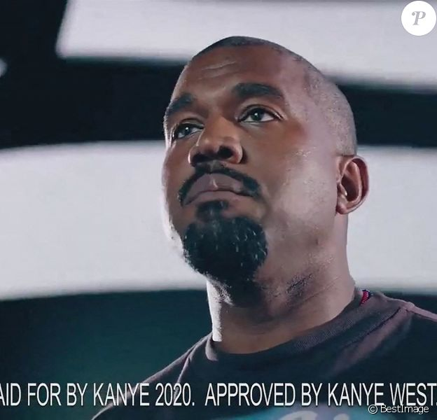 Premier clip de campagne de Kanye West en vue des élections présidentielles américaines