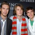 Le groupe Hanson à New York en novembre 2003.