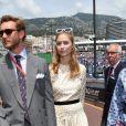 Pierre Casiraghi et sa femme Beatrice Borromeo Casiraghi - People avant le départ du 77ème Grand Prix de Formule 1 de Monaco le 26 mai 2019. © Bruno Bebert/Bestimage
