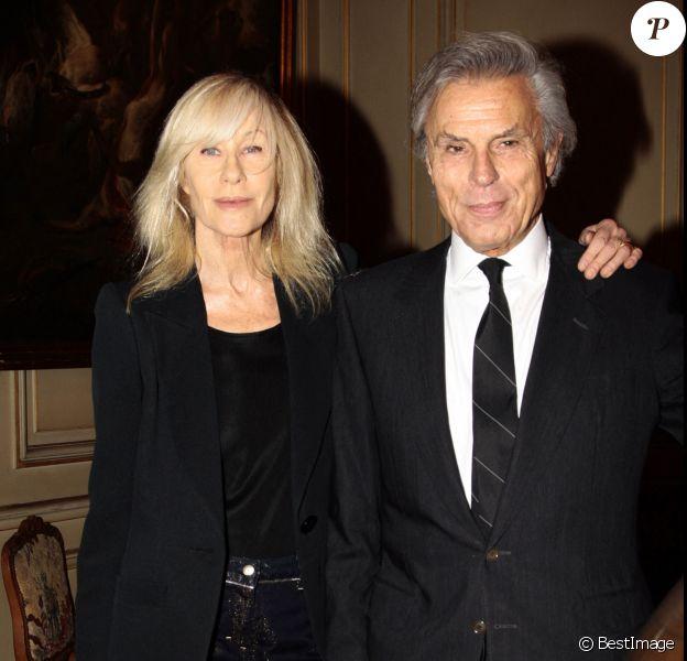 Betty Catroux et son mari François Catroux à Paris