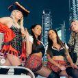Océane et Marine El Himer retrouvent Elsa et Leslie Dasc à Dubaï - Instagram