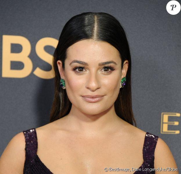 Lea Michele à la 69ème soirée annuelle des Emmy awards au théâtre Microsoft à Los Angeles. © Dave Longendyke/Globe Photos via Zuma/Bestimage