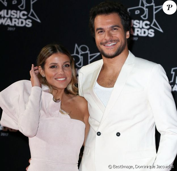 Amir Haddad et sa femme Lital - 19ème édition des NRJ Music Awards à Cannes. © Dominique Jacovides/Bestimage