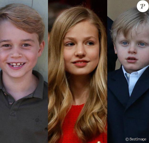 George de Cambridge, Leonor d'Espagne, Jacques de Monaco... Ces futurs rois et reines qui ont bien grandi.