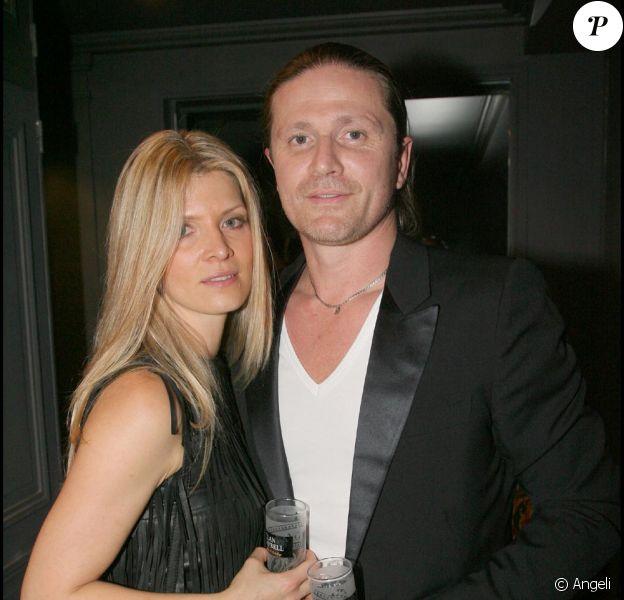 Emmanuel Petit et sa nouvelle compagne Maria