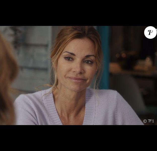 """Ingrid Chauvin joue Chloé Delcourt dans la série """"Demain nous appartient"""", sur TF1."""