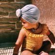 Alizée a dévoilé cette photo de sa fille Maggy, le 24 août 2020, sur Instagram.