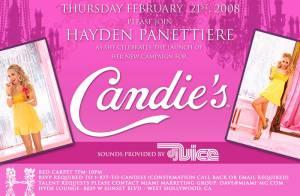 Hayden Panettiere remplace Fergie comme égérie de Candie's