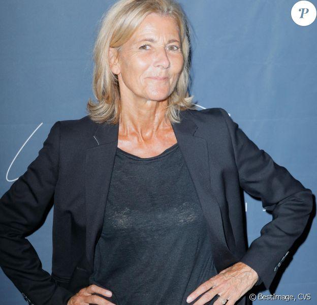"""Claire Chazal - Soirée d'inauguration du théâtre """"La Scala Paris"""" à Paris. © CVS/Bestimage"""