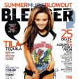 Tila Tequila en couverture du magazine Bleeder !
